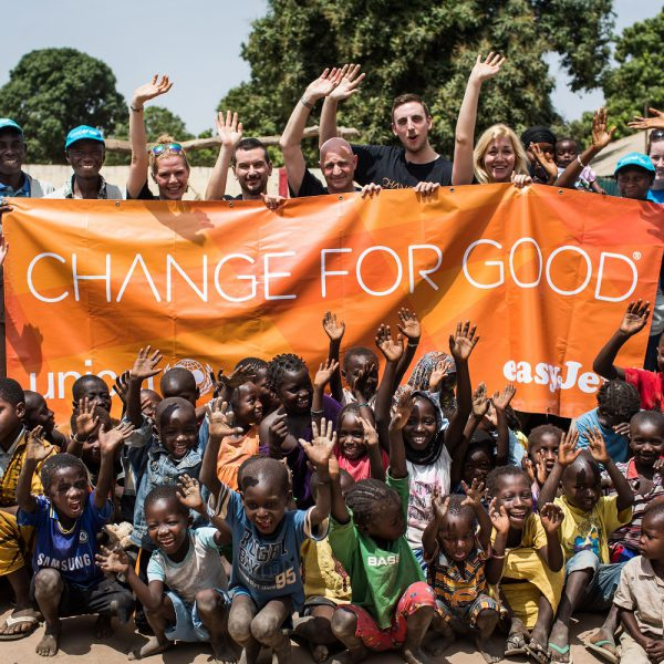 easyJet visit The Gambia to witness Unicef's work in action © Unicef/mcconnell2015/thegambia