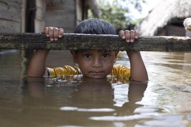 Helping children in disasters- Unicef UK