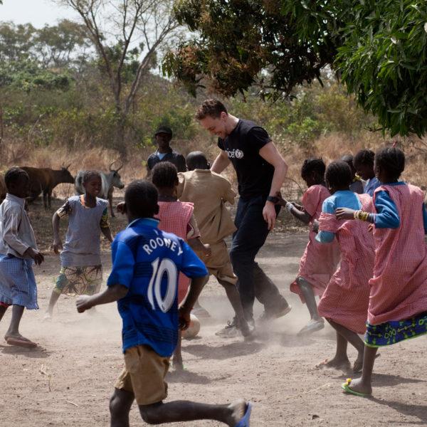 Tom Hiddleston Guinea field diary. Unicef/2013/Borden